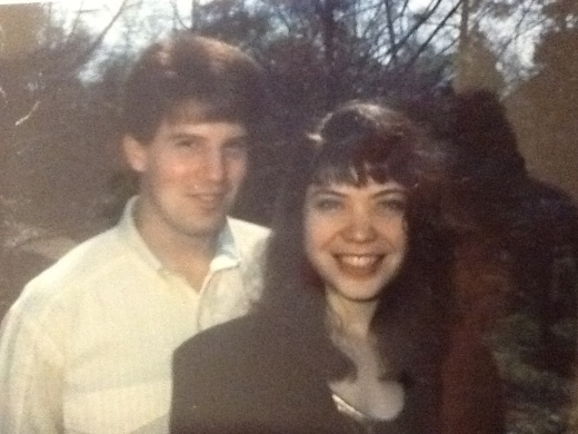 Greg and April - when we were both in college