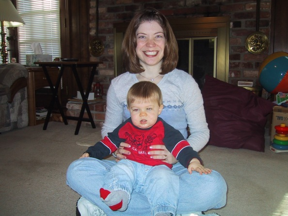 April and Brandon 2004