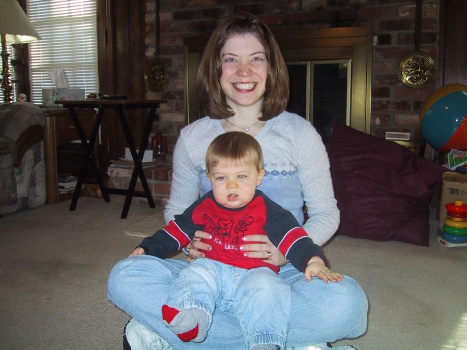 April and Brandon 2004