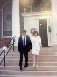 after our wedding ceremony May 28, 1994
