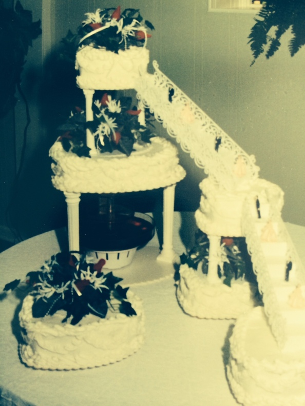 our wedding cake - May 28, 1994