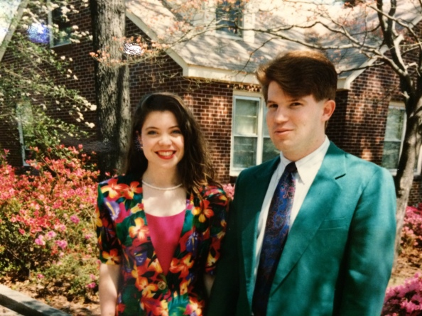 April and Greg - 1995ish