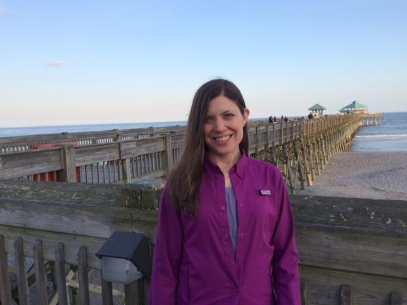 April at Folly Beach, SC